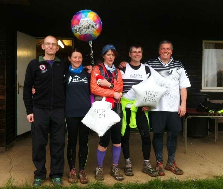 Wendy conquers Hardmoors greatest challenge