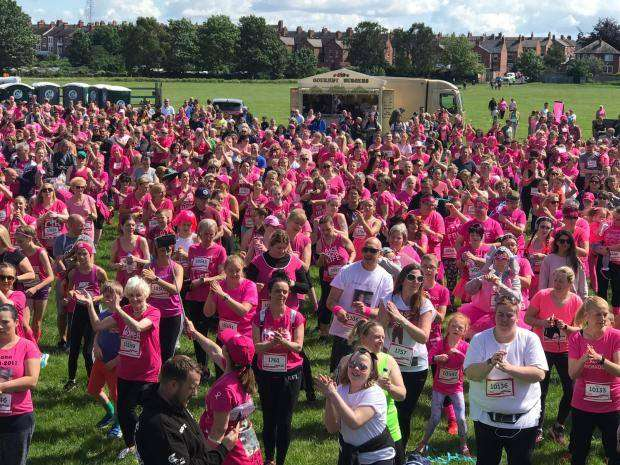 Quakers Volunteer at Race for Life