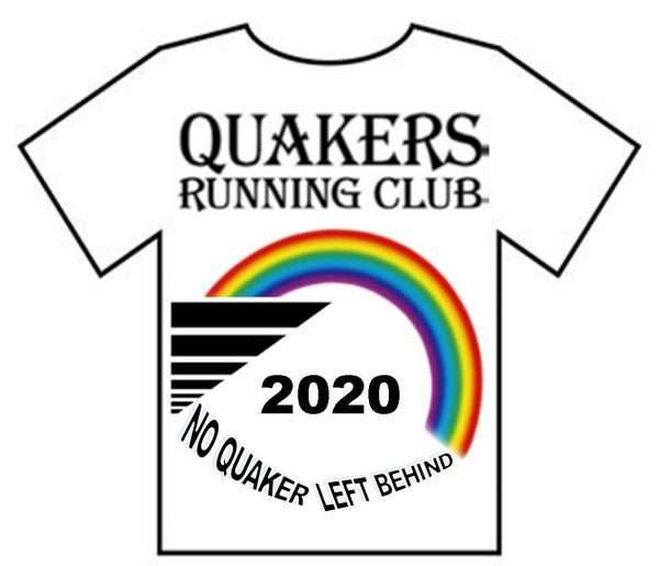 QRC Lockdown T Shirt QRC Logo and Rainbow