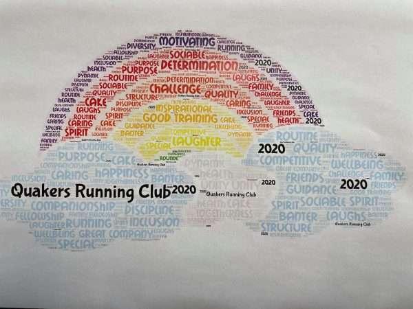 Lockdown T Shirt Rainbow & Cloud